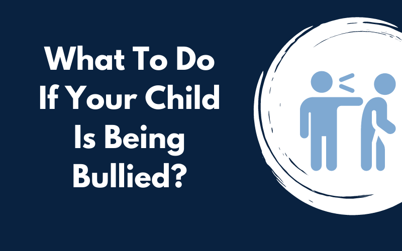 Title graphic for Ellis Academy blog about what to do if your child is being bullied